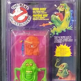 Kenner Ghostbusters Green Ghost w/Pack [TMNT1]